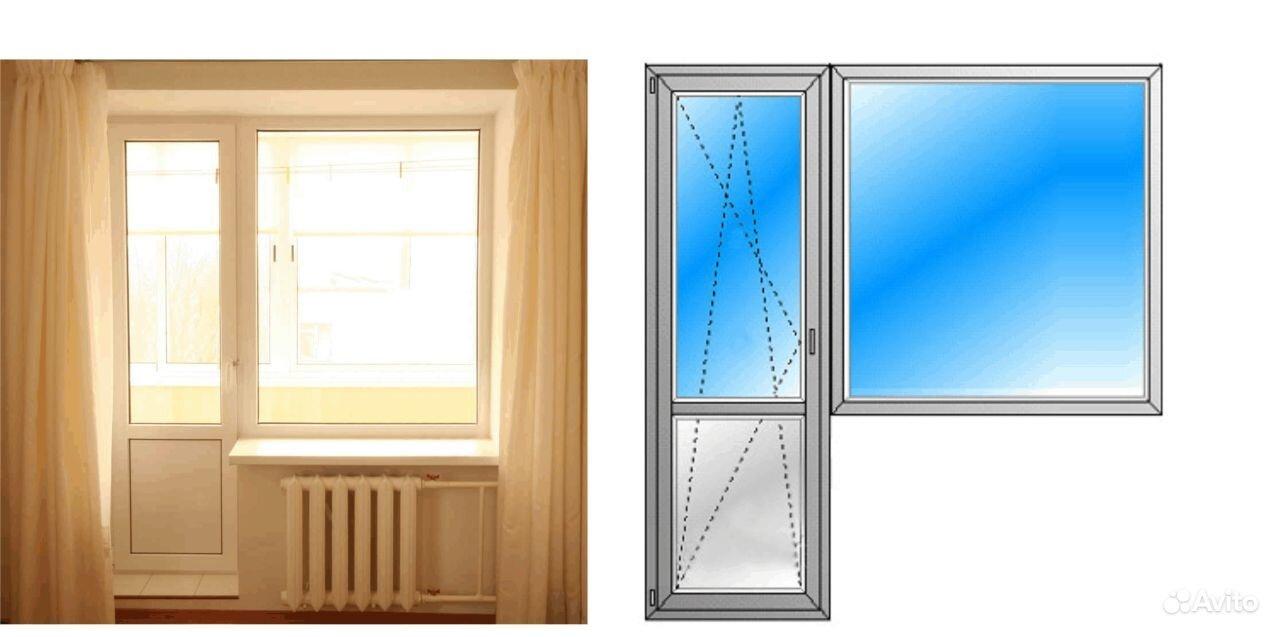 Как вставить балконную дверь с окном.