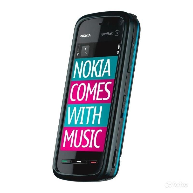 Разблокирована оригинальный Nokia 5800 сотовый телефон GSM 3G A-GPS Wi-Fi к