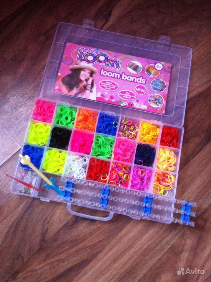 Игра для девочек плетение из резинок