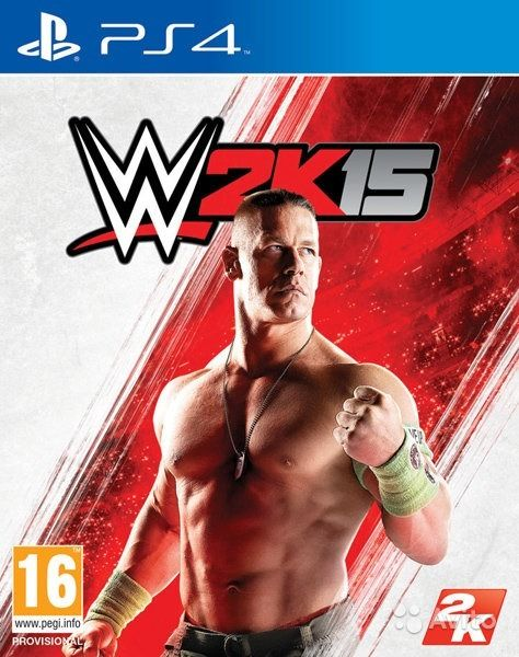 WWE 2K15 PS4 б у. Самарская область,  Самара