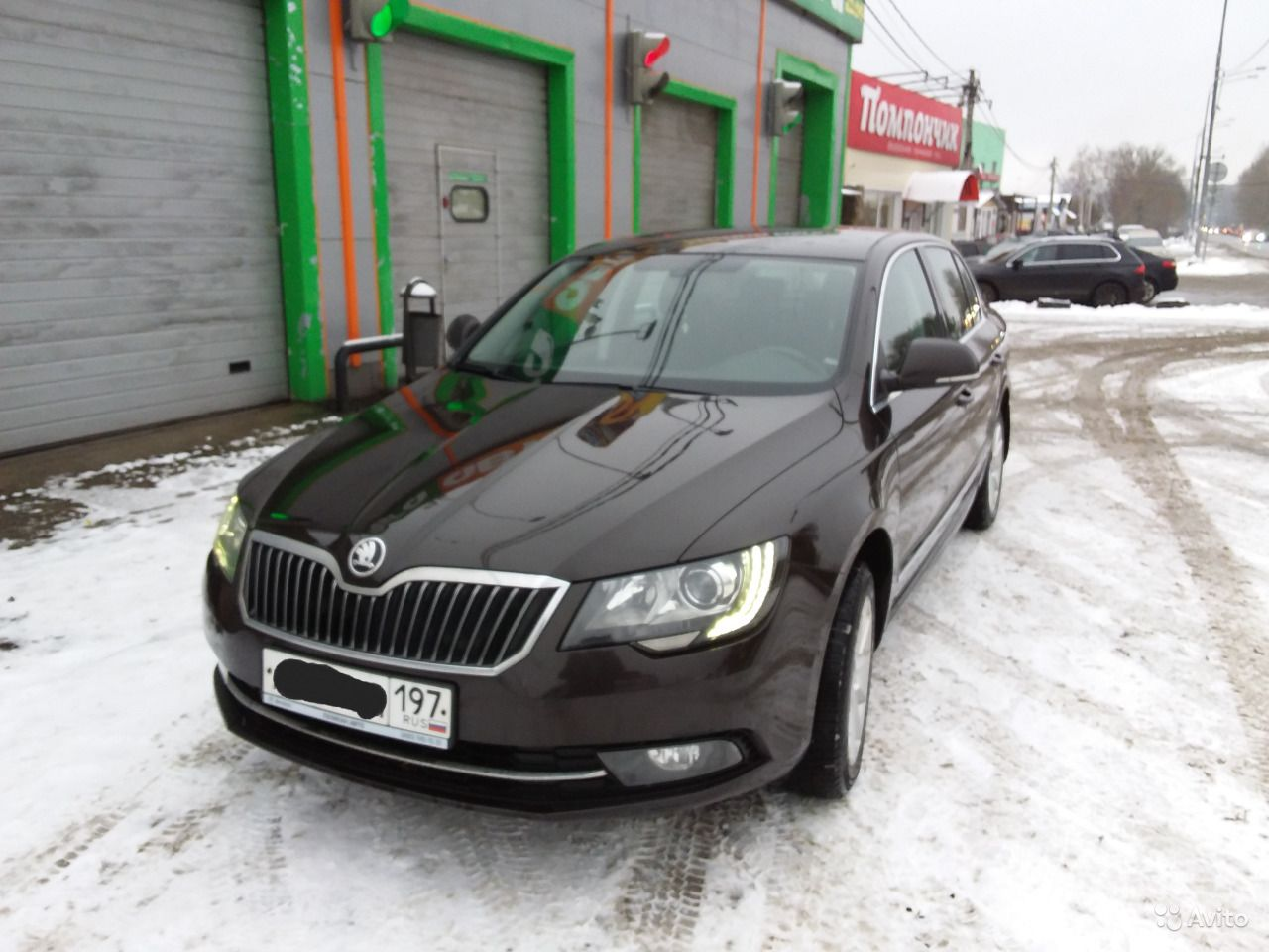 Skoda Superb 1.8 AMT, 2015, седан.  Москва