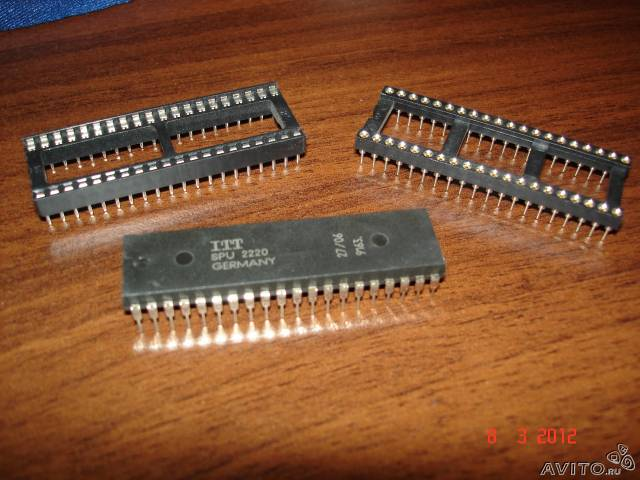 Микросхема ITT SPU 2220 и