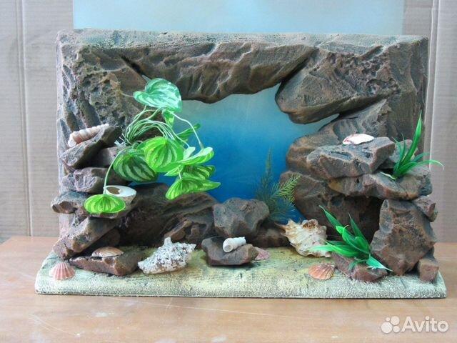 3 d фон для аквариума