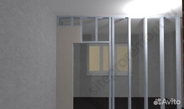 Как сделать перегородку с дверью своими руками