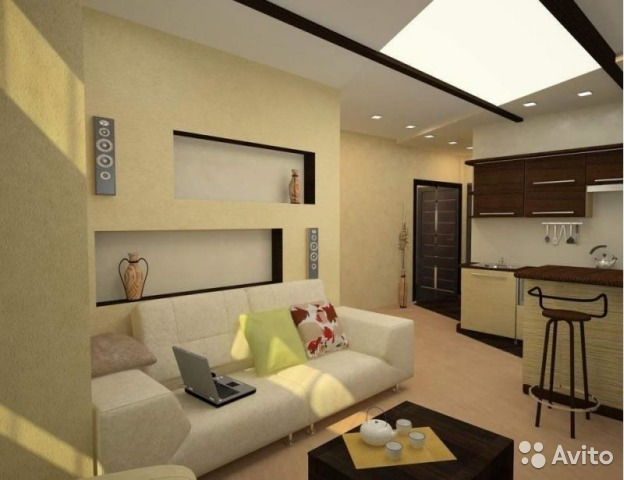 Интерьер для комнат студий