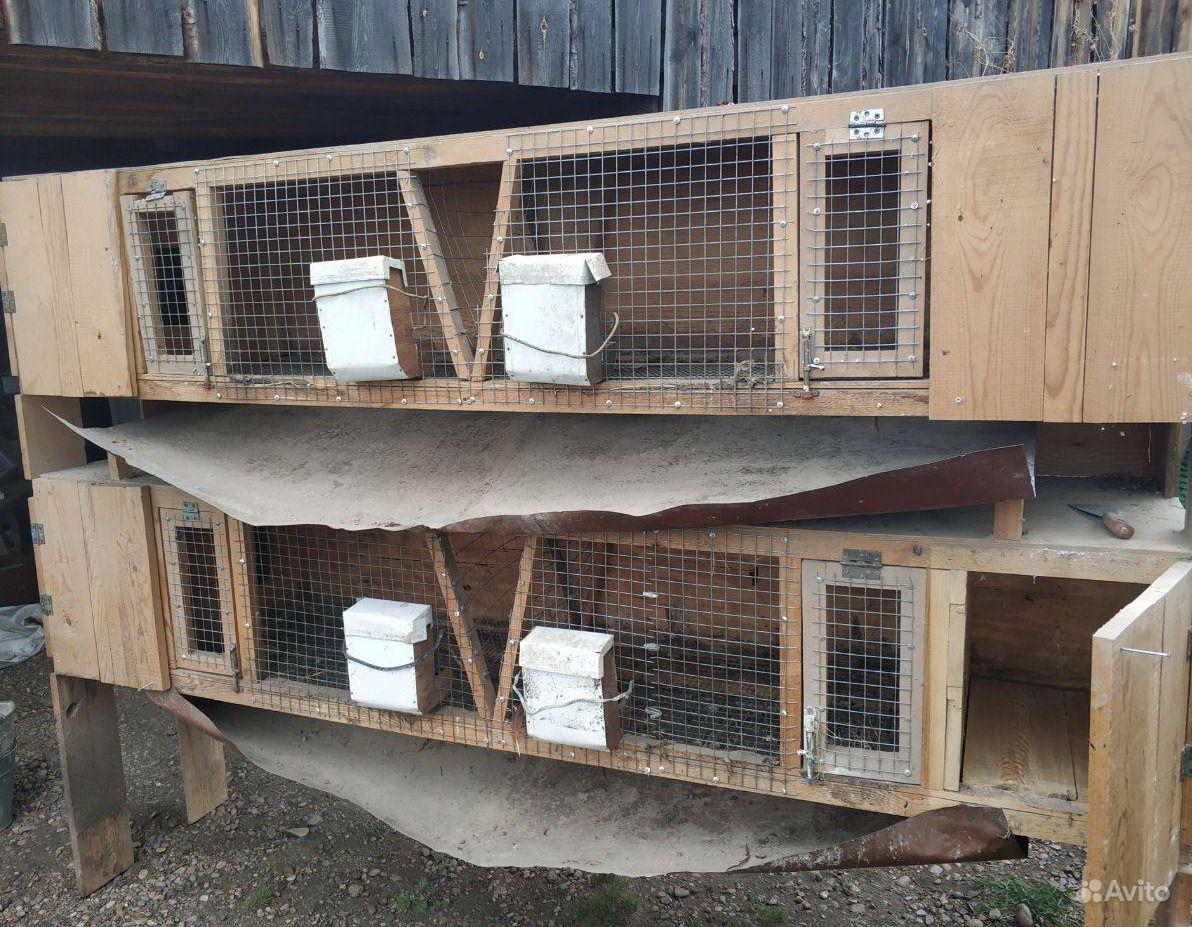 Клетки для кроликов в Иркутске - фотография № 2