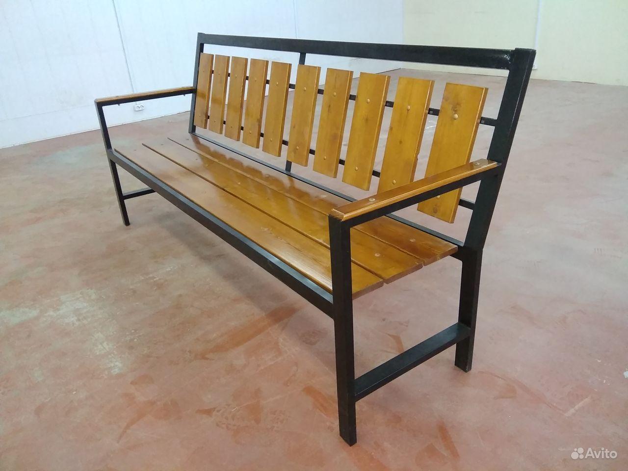 Уличные скамейки купить на Вуёк.ру - фотография № 8