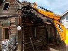 Рекультивация снос строения дачных домов