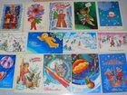 Советские новогодние открытки объявление продам