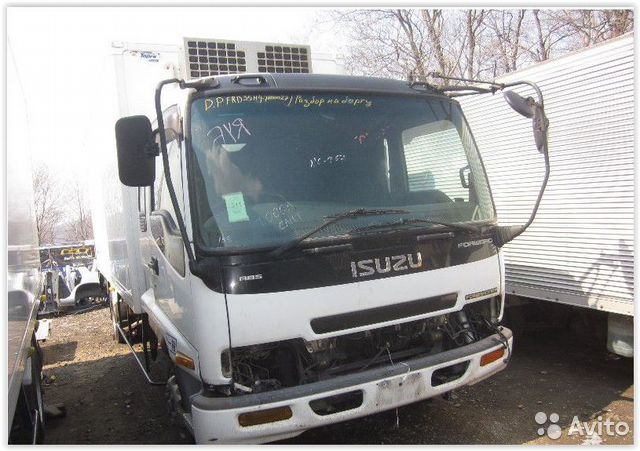 Кабина isuzu forward FRD35 6HL1— фотография №1