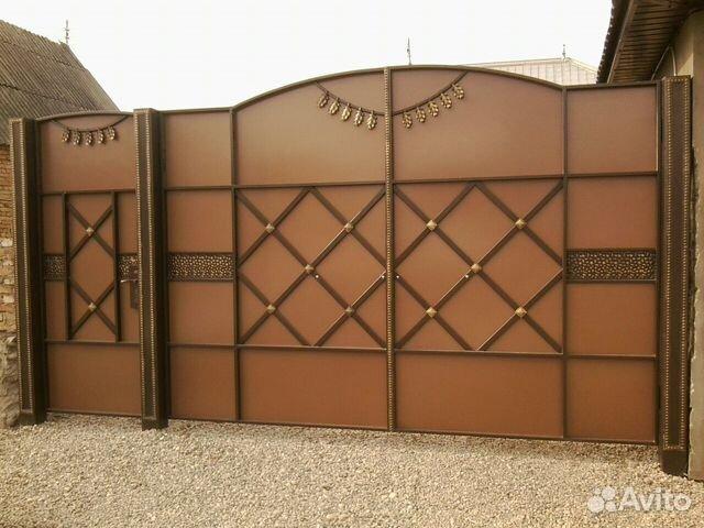 Ворота эконом класса ворота въездные статья