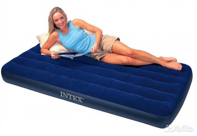 Купить надувной матрас с доставкой деревянные кровати с матрасом недорого
