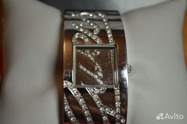 Купить часы guess с кристаллами сваровски