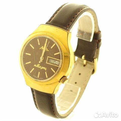 Luch quartz часы цена оригинал