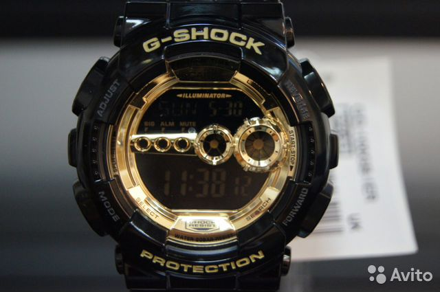Casio G-Shock GD-100GB-1E новые