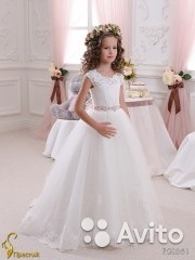 Платье для девачек свадебное