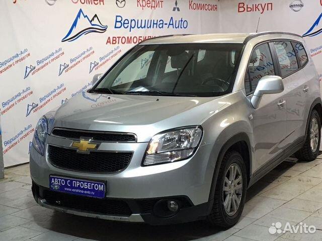 Chevrolet Orlando в Москве с пробегом и новые  цены