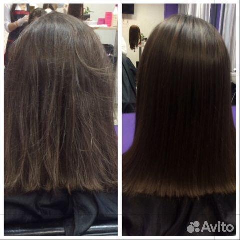 Кератиновое выпрямление волос тюмень