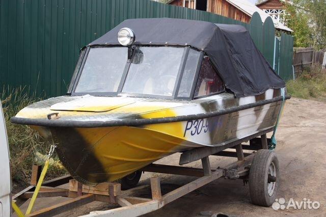 купить бу моторную лодку в украине