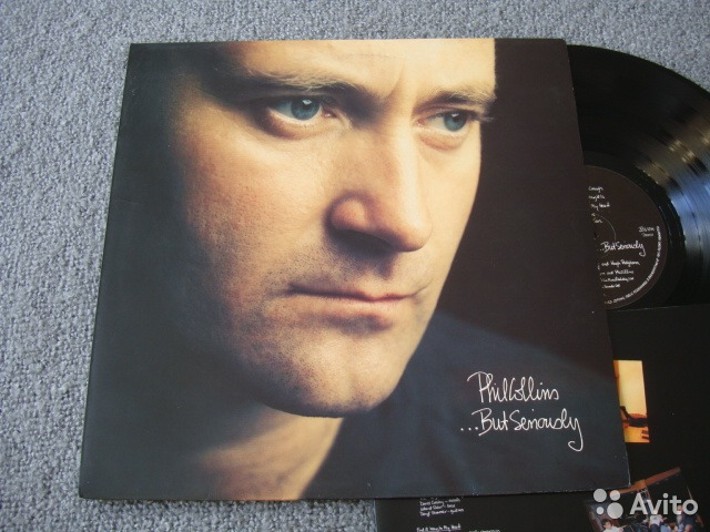 "Phil Collins"".But Seriously"" UK NM/EX+— фотография №1"