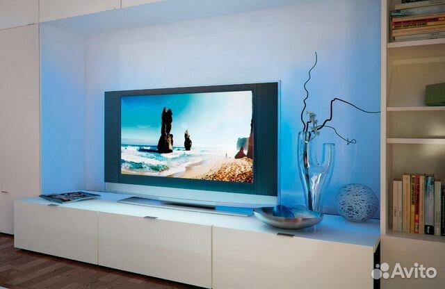 Светодиодная подсветка за телевизором 173