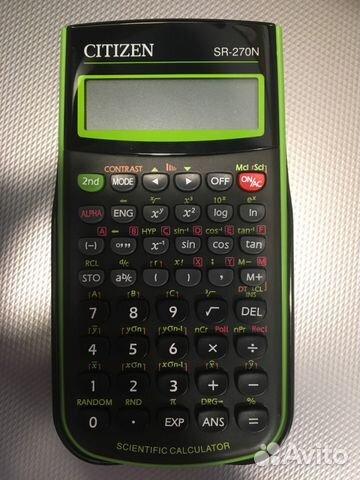 калькулятор citizen sr-270n инструкция на русском