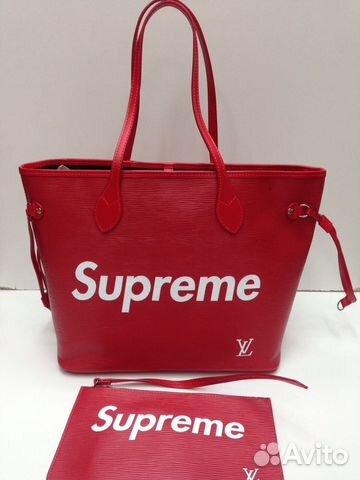 00073d985223 женская сумка Supreme купить в москве на Avito объявления на сайте