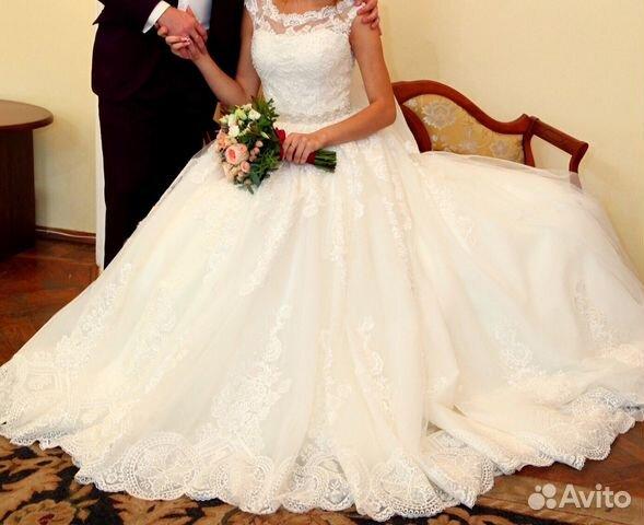 Свадебные платья авито курск