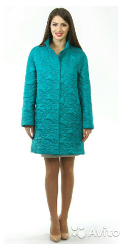 Демисезонное пальто р. 48-50 89206265449 купить 4