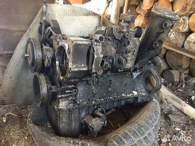 Двигатель мерседес на запчасти 89611175482 купить 2