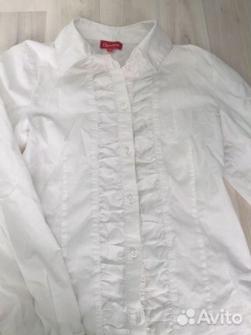 62383dde8b1 Белые блузки для школы купить в Свердловской области на Avito ...