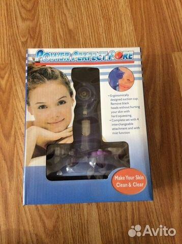 Вакуумный прибор для чистки и массажа лица