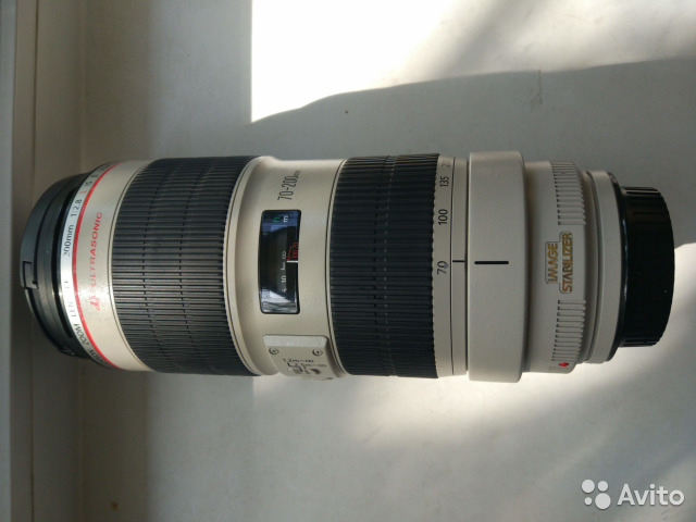 Canon EF 70-200mm f/2.8L IS II USM обмен