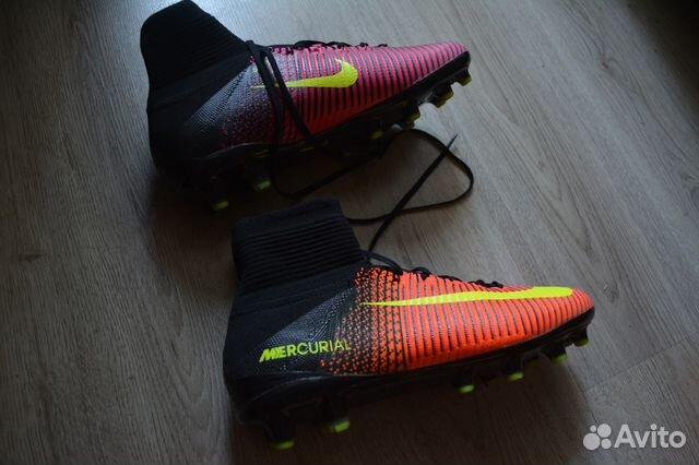 2e6932b3 Бутсы с носком Nike Mercurial Superfly купить в Республике ...