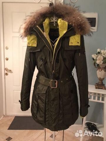 Стиль. Парка-куртка пух Burberry купить в Москве на Avito ... 1d4940aa345