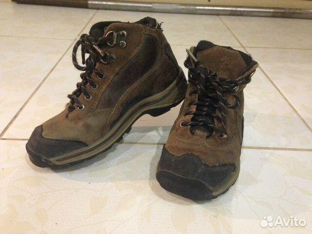 Ботинки кожа оригинал Timberland 19 8717d27580682
