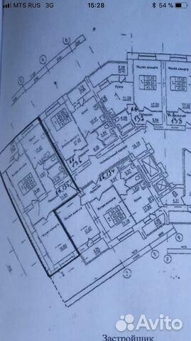 Продается двухкомнатная квартира за 2 150 000 рублей. Орёл, улица Бурова, 46.