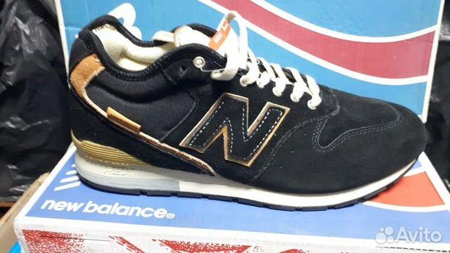 Кроссовки зимние New Balance 996 Black  3453e38d62b18
