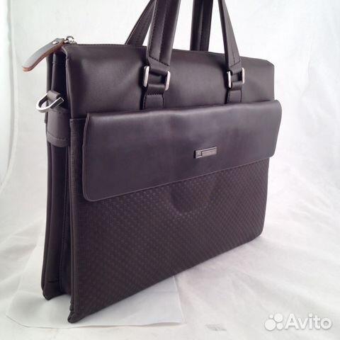 06ba8ce9b617 Мужская сумка, портфель Mont Blanc арт. 1888-4 купить в Москве на ...