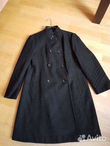 a4f08402783 Пальто демисезонное черное б у Principles купить в Москве на Avito ...
