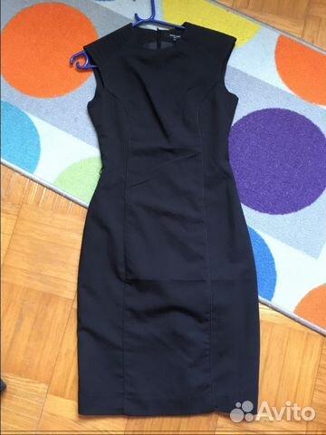 1a871d3231c Офисное платье чёрное купить в Москве на Avito — Объявления на сайте ...