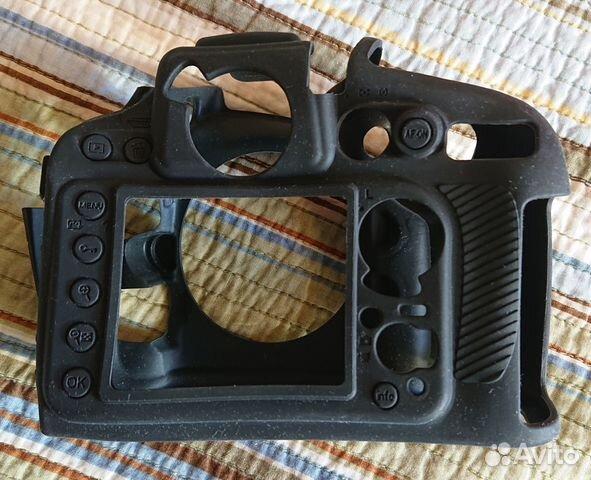 Защитный резиновый чехол для камер Nikon D800