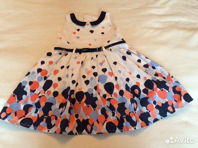 15798c6c8f0 Платье для девочки 2-4 года купить в Новосибирской области на Avito ...