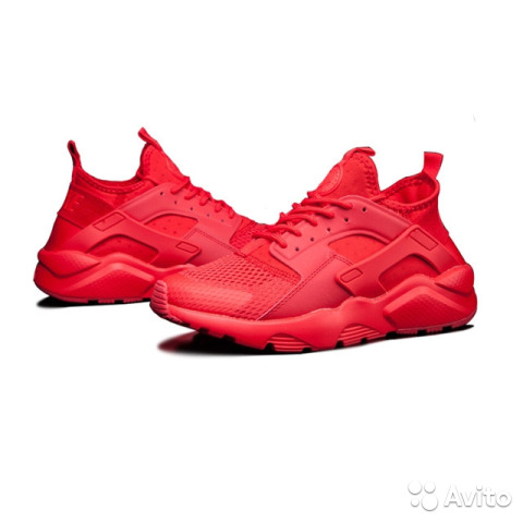13f2a189 Кроссовки Nike Huarache мужские красные купить в Москве на Avito ...