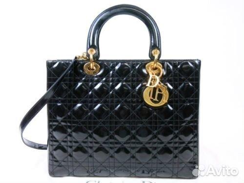 16d4d266504d Dior оригинал Dior Lady сумка черная louis eu3903 | Festima.Ru ...