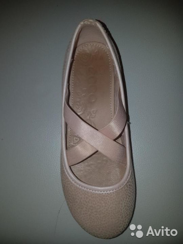 Туфли на девочку нат. кожа ecco 89195669190 купить 1