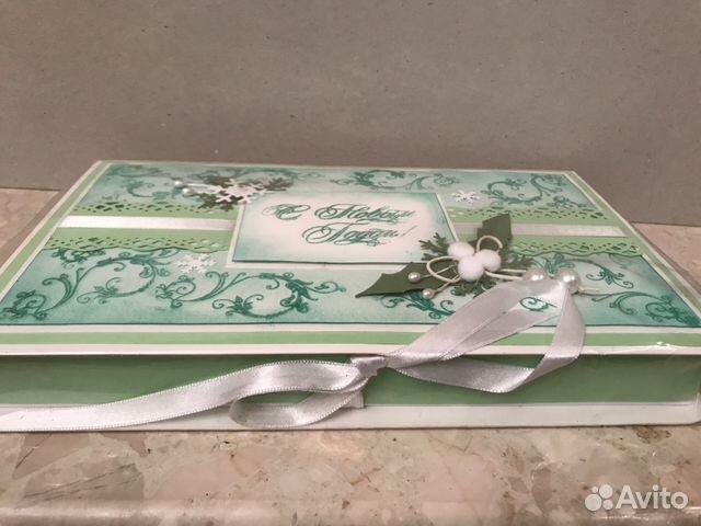 Подарочная коробка «С Новым Годом». Handmade 89114516362 купить 2