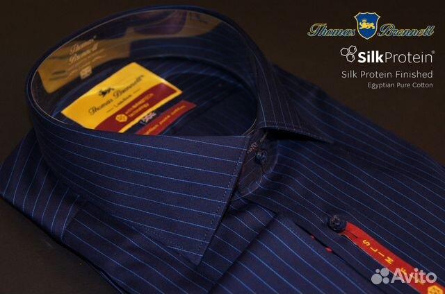 92dd9a6d1c6 Мужская рубашка Thomas Brennett Bristol H13321-A1 купить в Москве на ...