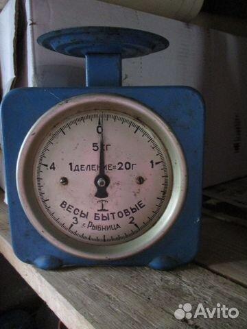 Весы механические пружинные,70-е годы