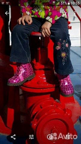 Ботинки демисезонные 89173088353 купить 3